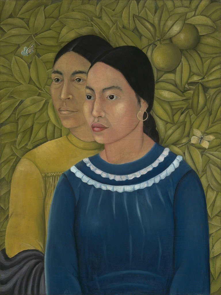 Dos Mujeres (Salvadora y Herminio) (also known as Two Women), 1928